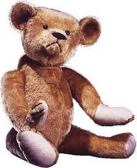 Jewish Inventors: original Roosevelt Teddy bear