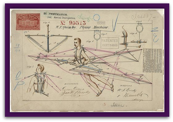 picture of old patent invention