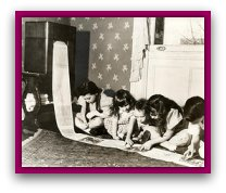 children wireless newspaper invention