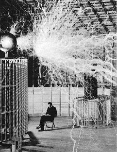 Tesla Invention electricity