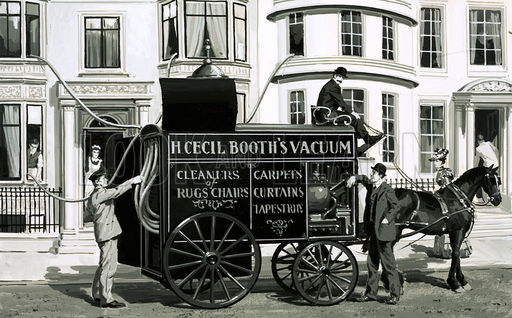 Booth vacuum cleaner service